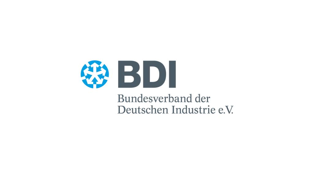 BDI Logo - Bundesverband der Deutschen Industrie e.V_